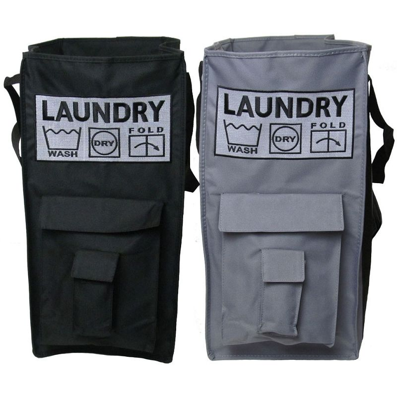 Heavy Duty Free Standing Canvas Laundry Bag Canvas Laundry Bag