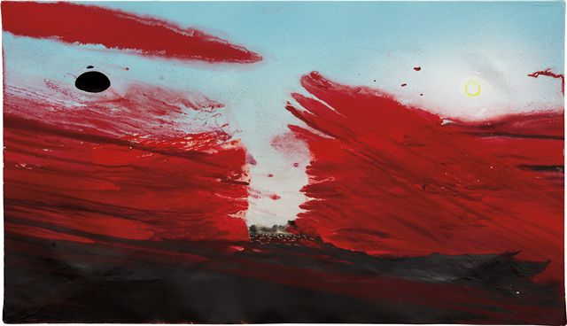 Barnaby Furnas, Study for Parting of the Red Sea