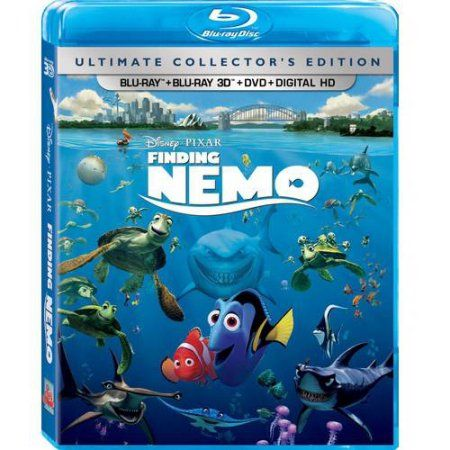Finding Nemo Ultimate Collectors Edition Blu Ray Blu Ray 3d