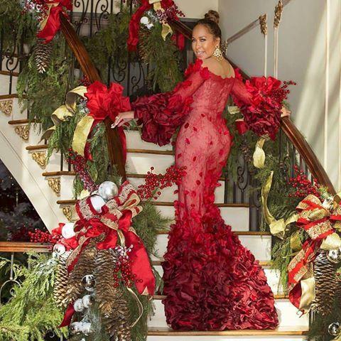 Steve Harvey Christmas Tree.Mrs Margaret Harvey Wife Of Steve Harvey Ygg Home For