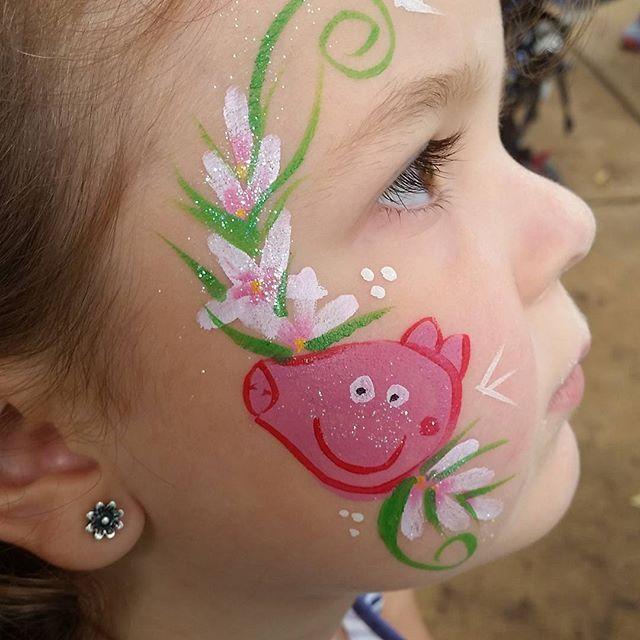 Peppapigfacepaint Face Paint Peppa Pig Pig Face Paint Peppa Pig