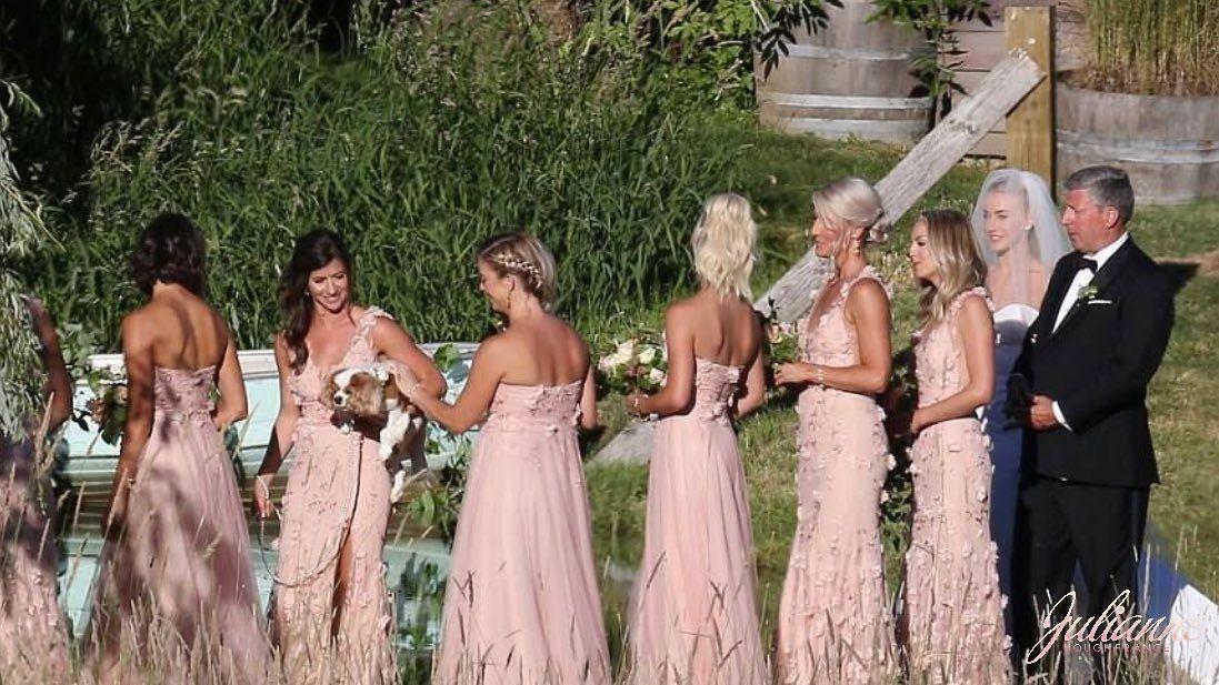 Julianne Hough And Brooks Laich S Wedding Celebrity Bride Bridesmaid Celebrity Weddings