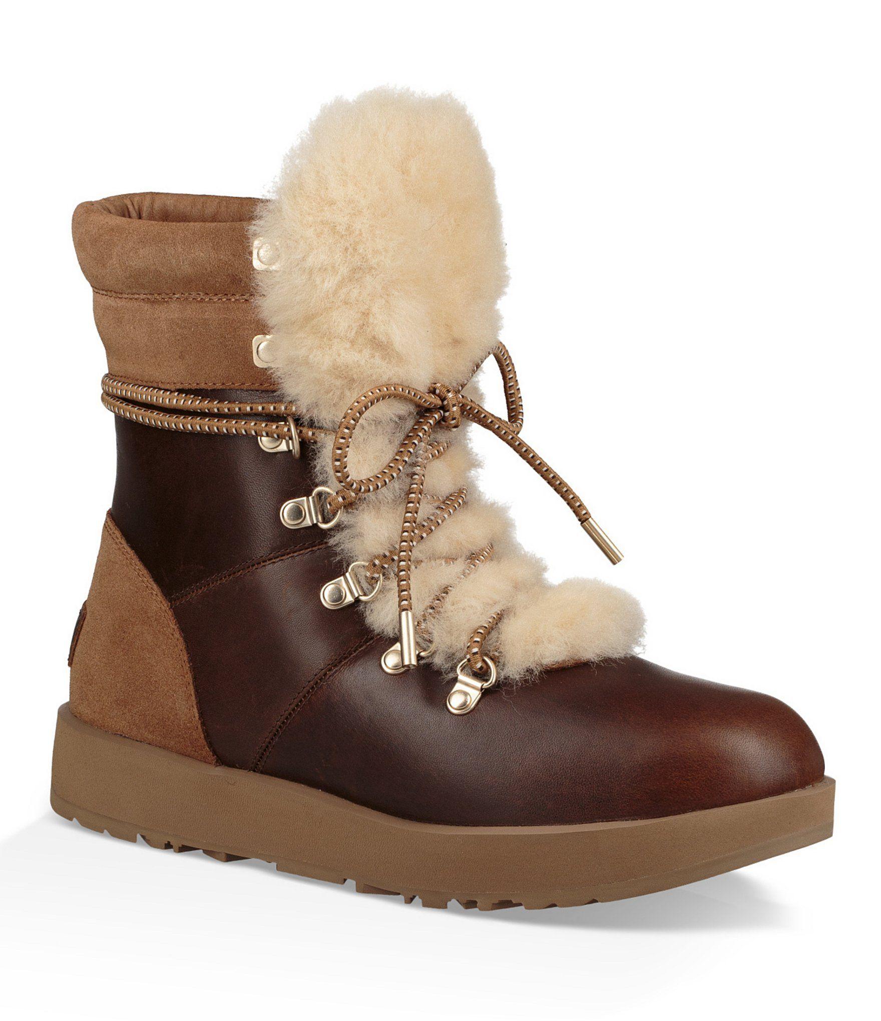 652db320d1d4b0 Shop for UGG® Viki Waterproof Lace Up Boots at Dillards.com. Visit Dillards
