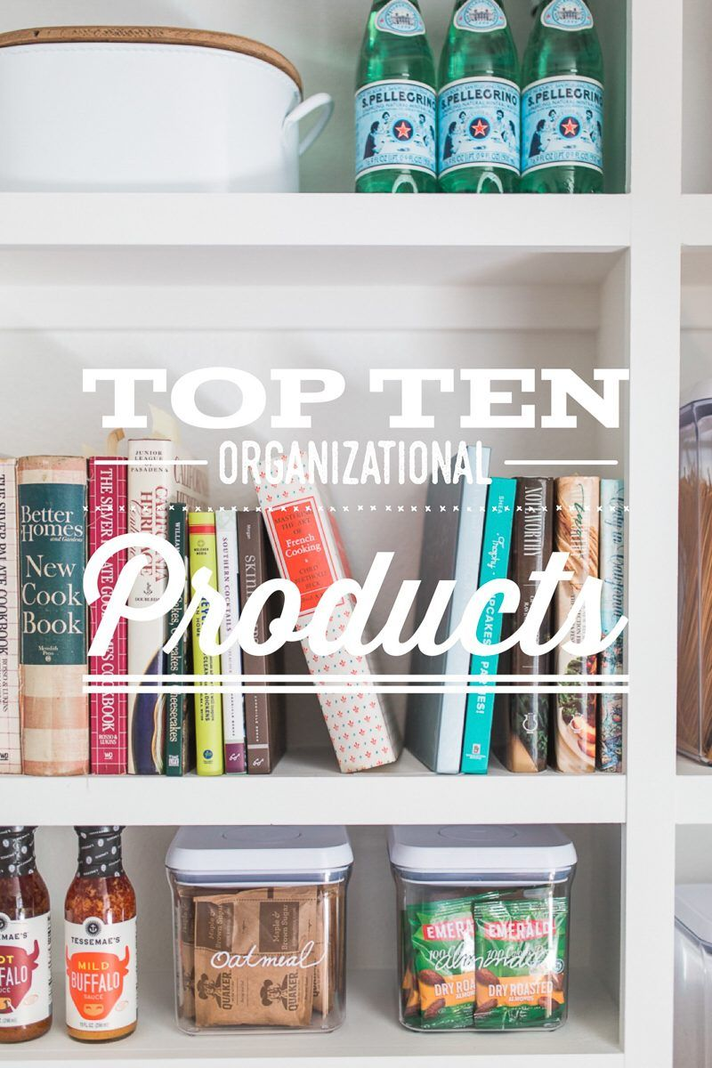 My Favorite Organizational Products