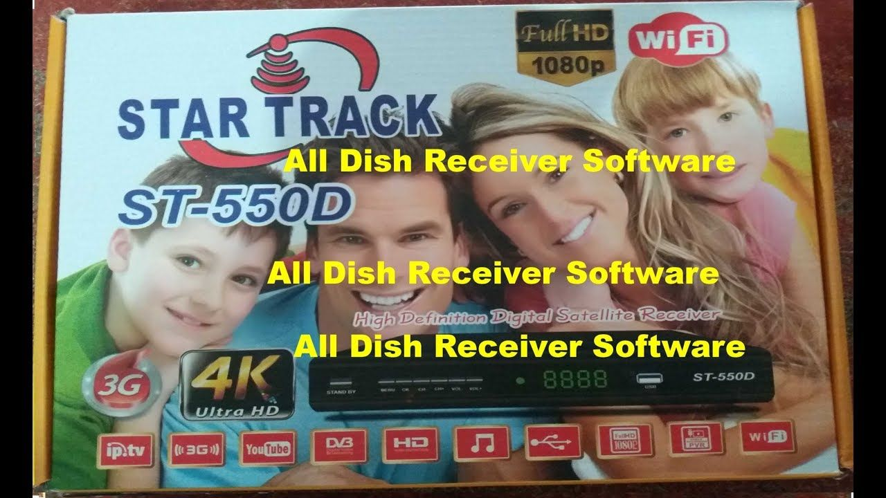STAR TRACK ST 550D HD RECEIVER AUTO ROLL BISS KEY NEW SOFTWARE   All