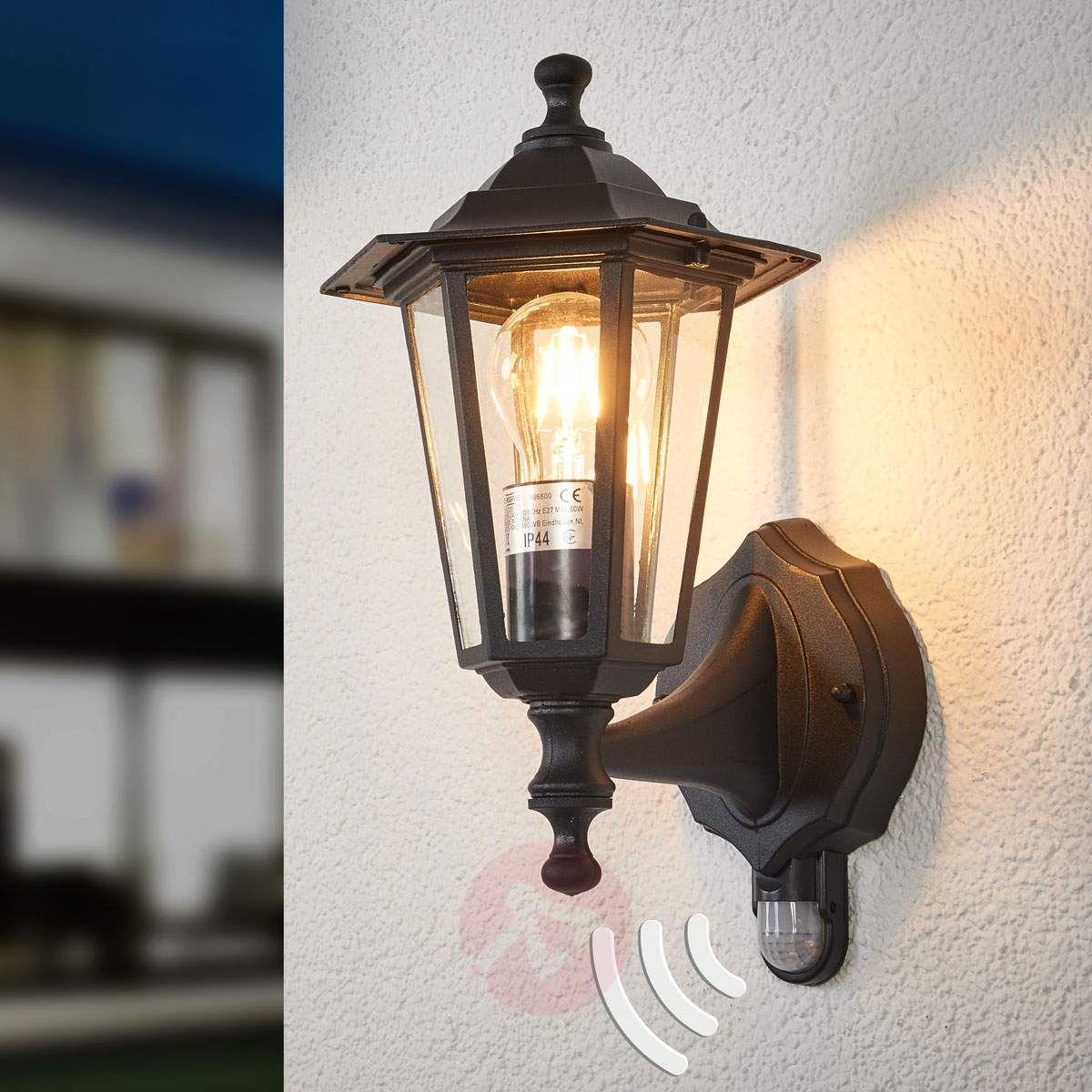 Oswietlenie Led Do Ogrodu Oswietlenie Leroy Merlin Warszawa Lampa Led Z Czujnikiem Ruchu I Zmier Outdoor Light Fixtures Outdoor Lighting Outdoor Wall Lamps