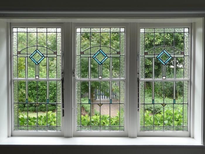 Quadruple Hung Windows : Art deco leadlight triple http artarmonprogress
