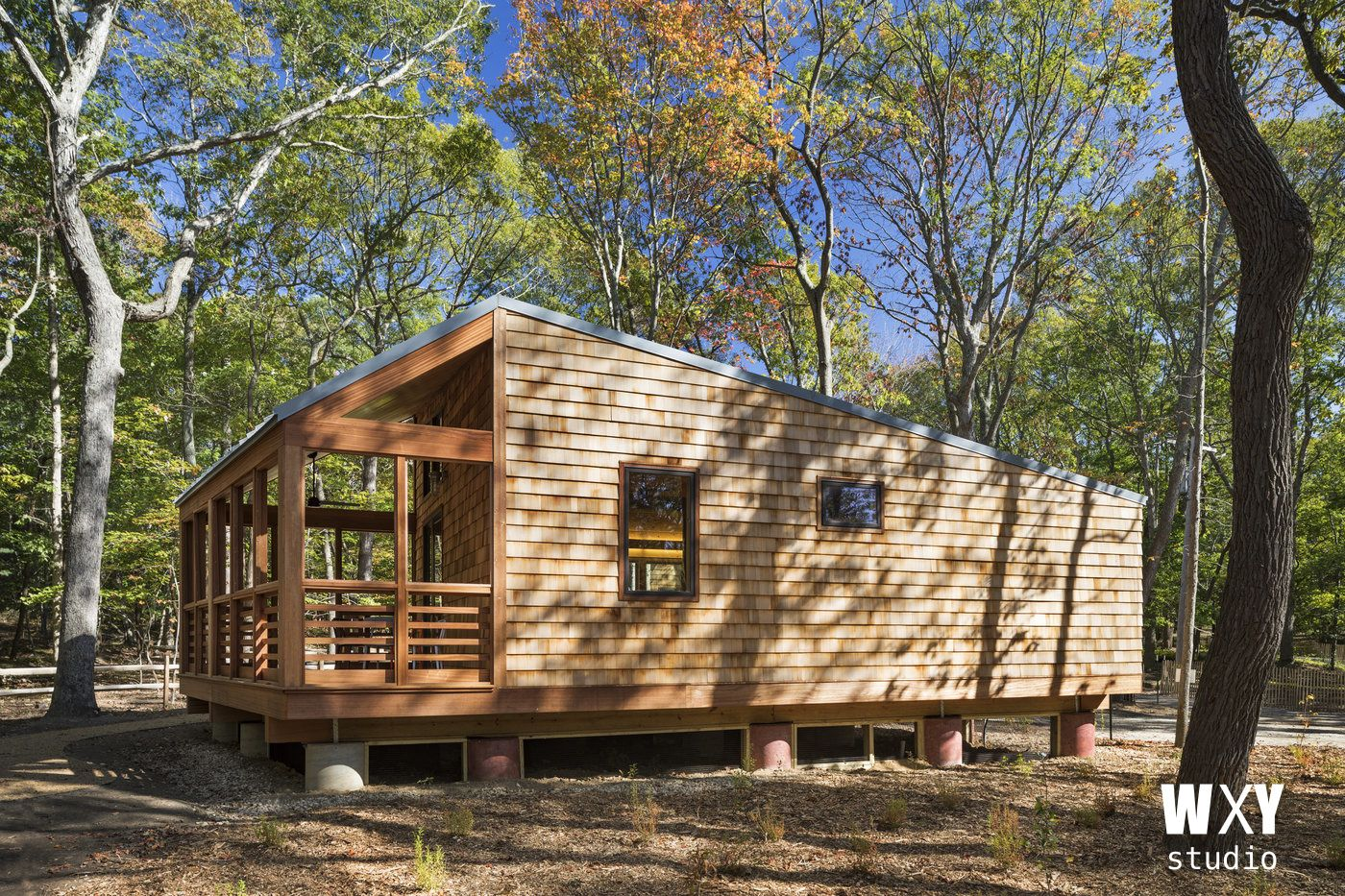 A Beautiful Modern Cabin That Will Be Available For Booking Less Than Two Hours From NYC At The Wildwood State Park On Long Island