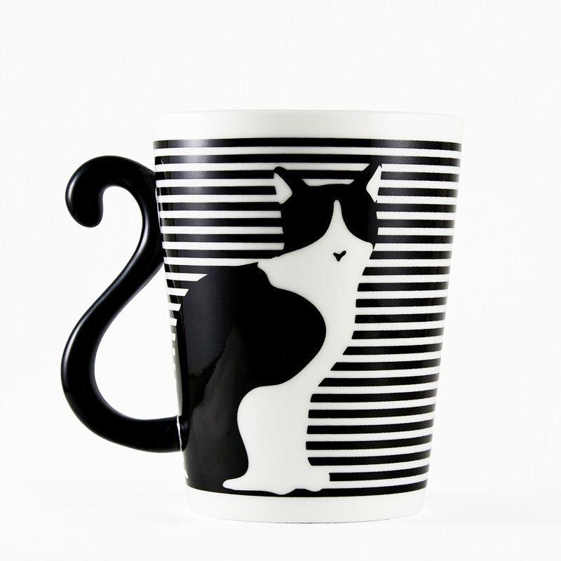 15 Meowdorables diseños de tazas para los amantes de los gatos #tazasceramica