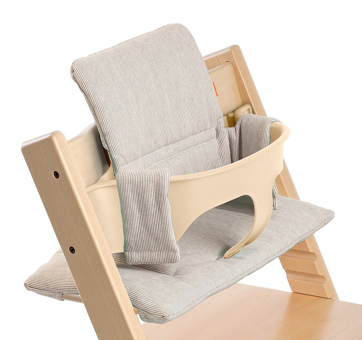 Harnais Chaise Tripp Trapp Stokke Coussin Pour Chaise Tripp Trapp Reflet Gris Couture