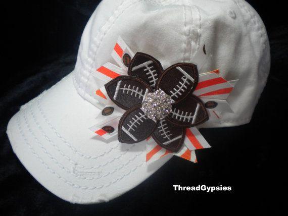 e11b34a9c5de DIY Craft  Adding Bling to a Baseball Cap « The Domestic Diva (mobile)