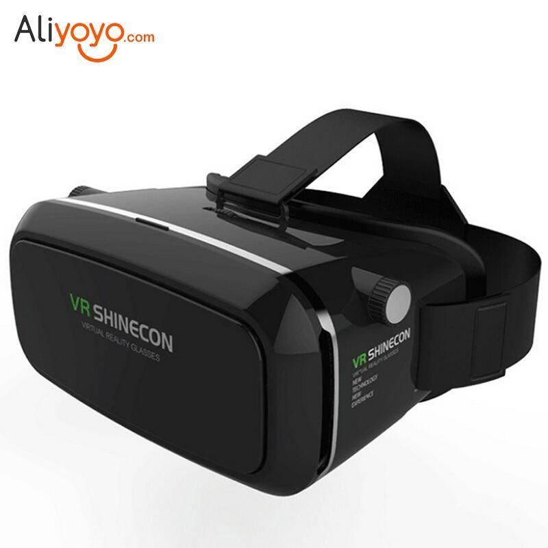 VIRTUAL REALITY 3D VR GLASSES SHINECON HEADSET FOR IPHONE ANDROID S7 EDGE UK