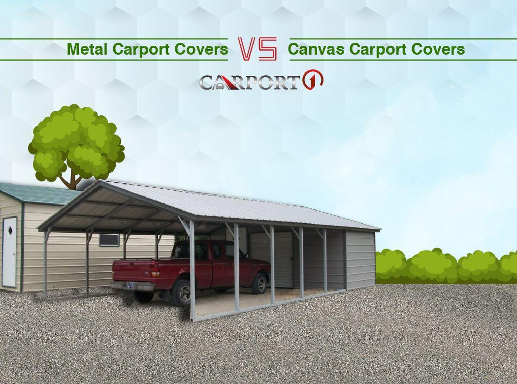 Portable Carports Fabric Canvas Carport Covers Vs Metal Carport