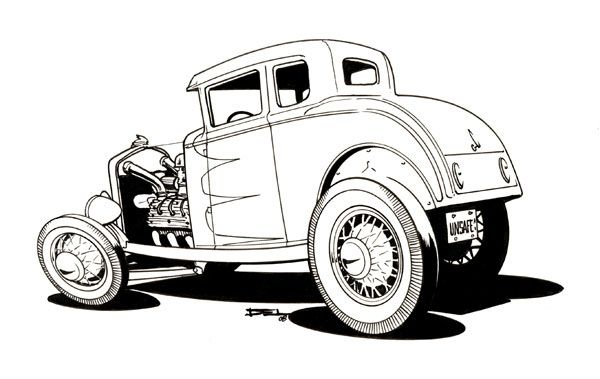 traditional model a by del swanson