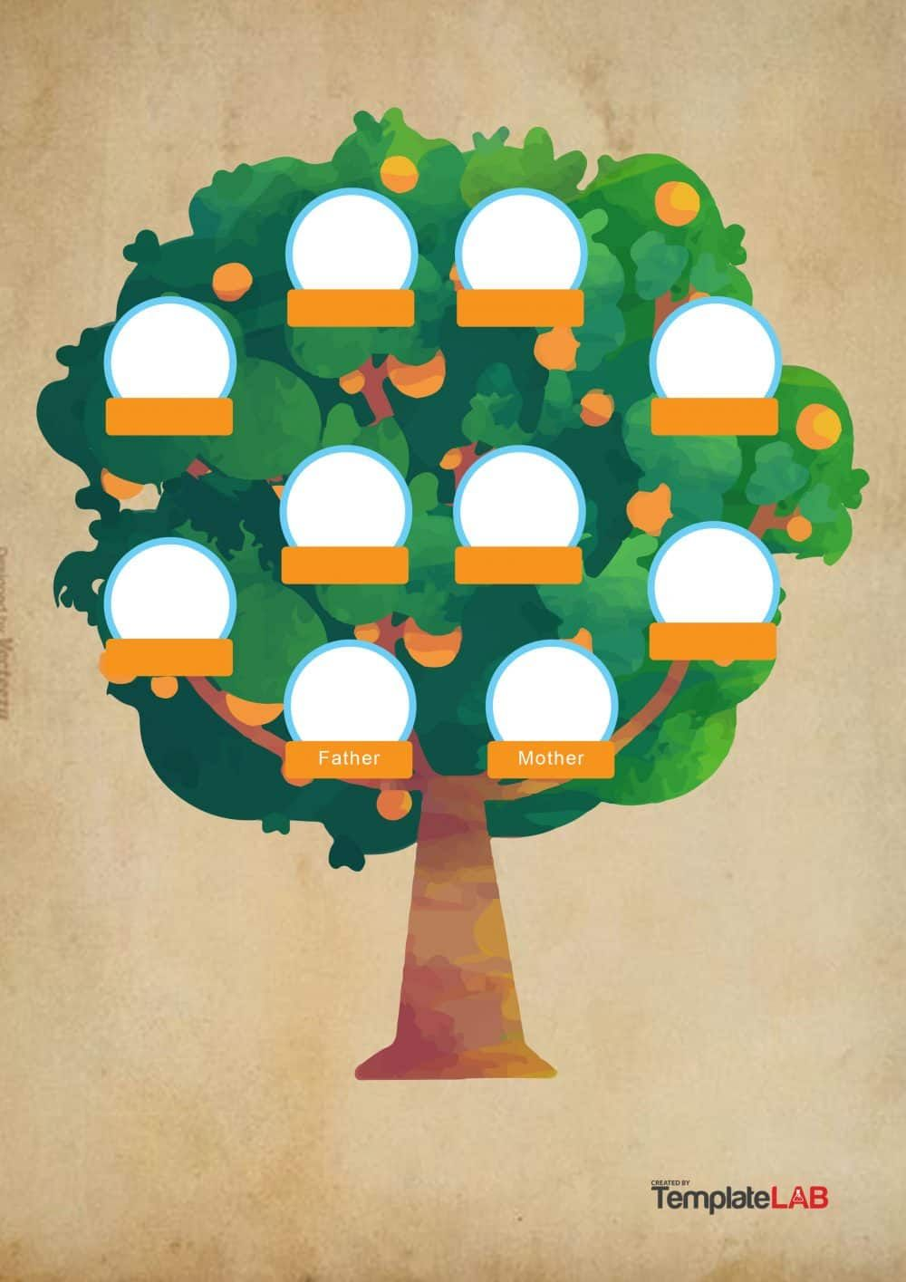 Download Family Tree Template 8 Family Tree Poster Family Tree Template Custom Family Tree