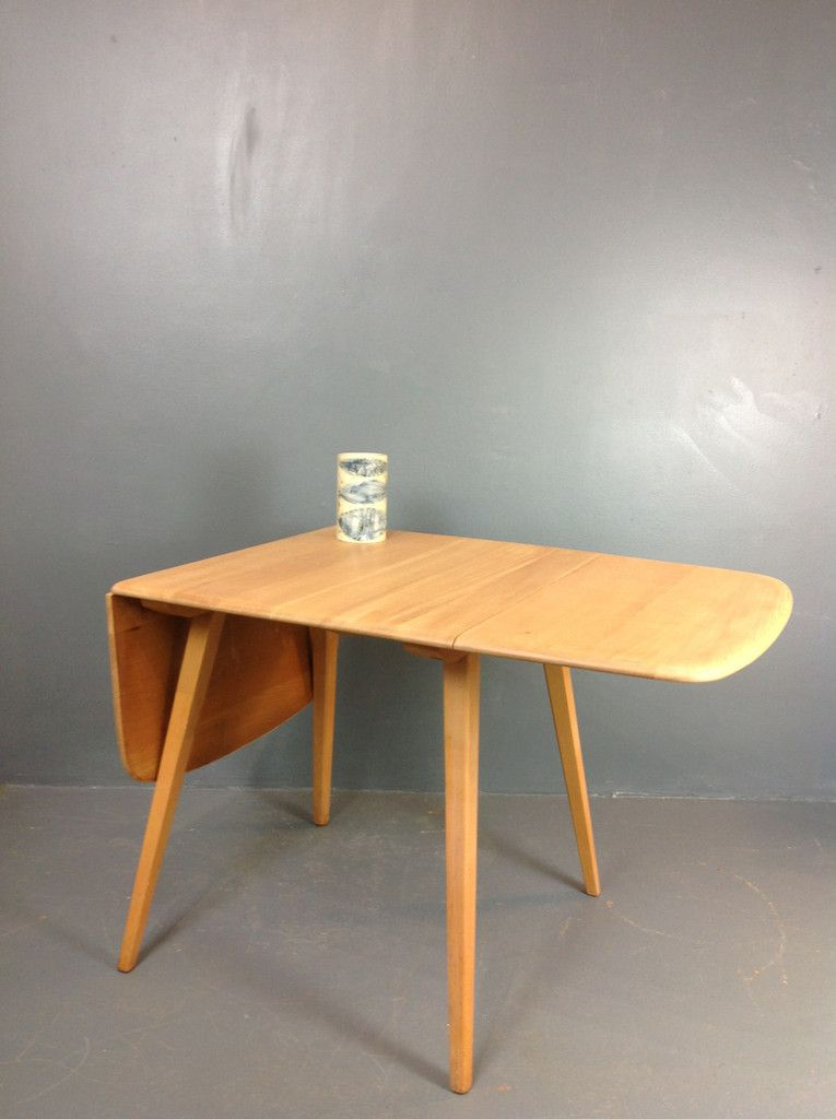 1960s Ercol Drop Leaf Table Vintage Ercol Furniture