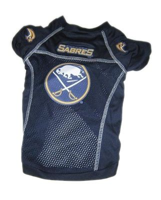 Buffalo Sabres NHL Dog Jersey Large #huntermfg #dogjersey #nhl #smalldogs #dogs #petjersey #hockey #doggiefanshop