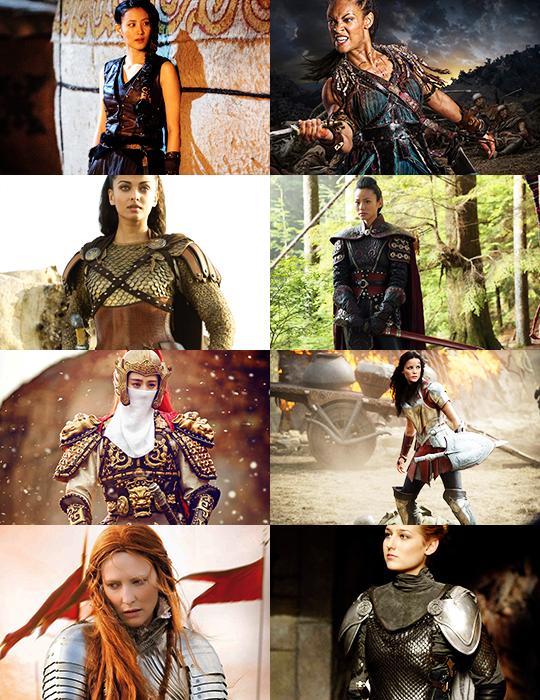 Women Warriors/Women in Armor