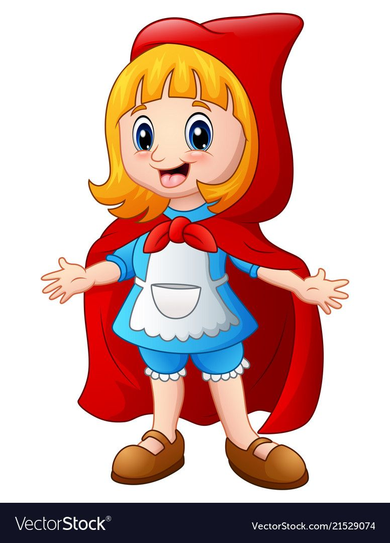 Little Red Riding Hood Vector Image On Os Tres Porquinhos