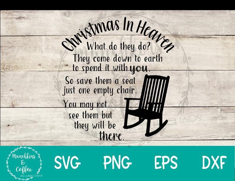 Download Christmas In Heaven SVG | Christmas in heaven, Heaven ...