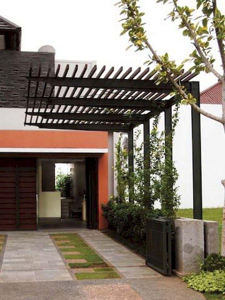 53 Fascinating Modern Carports Garage Designs Ideas Modern Pergola Pergola Designs Rustic Pergola