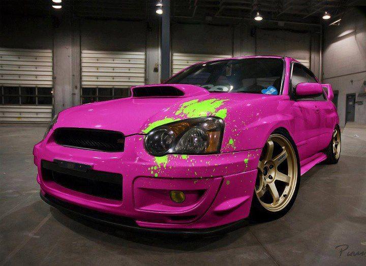 Subaru Impreza WRX STI JDM Tuning Crystal City Car 2014 ... |Pink Subaru Impreza Wrx