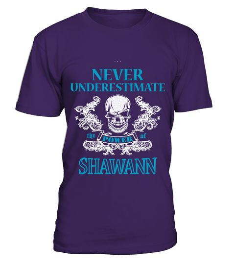 # SHAWANNA NEVER UNDERESTIMATE .  SHAWANNA NEVER UNDERESTIMATE  A GIFT FOR THE SPECIAL PERSON  It's a unique tshirt, with a special name!   HOW TO ORDER:  1. Select the style and color you want:  2. Click Reserve it now  3. Select size and quantity  4. Enter shipping and billing information  5. Done! Simple as that!  TIPS: Buy 2 or more to save shipping cost!   This is printable if you purchase only one piece. so dont worry, you will get yours.   Guaranteed safe and secure checkout via…