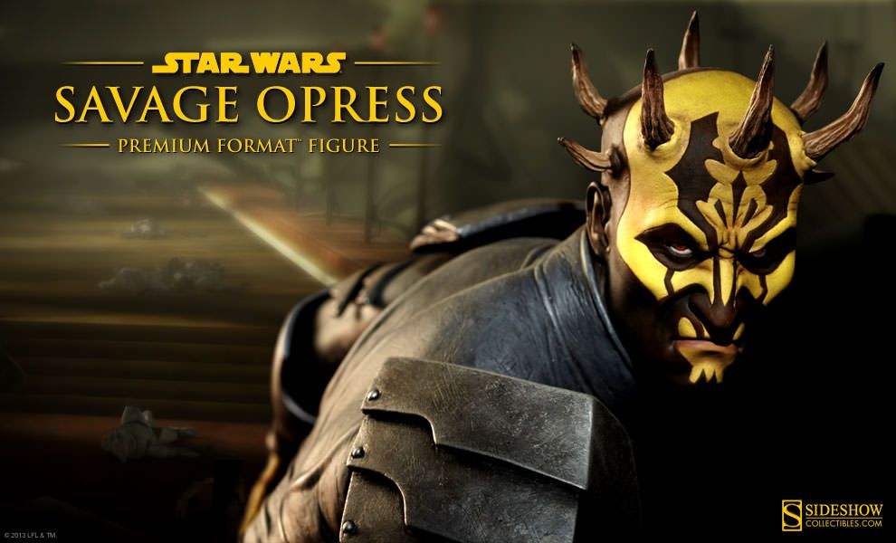 Star Wars Savage Opress Premium Format Figure Preview