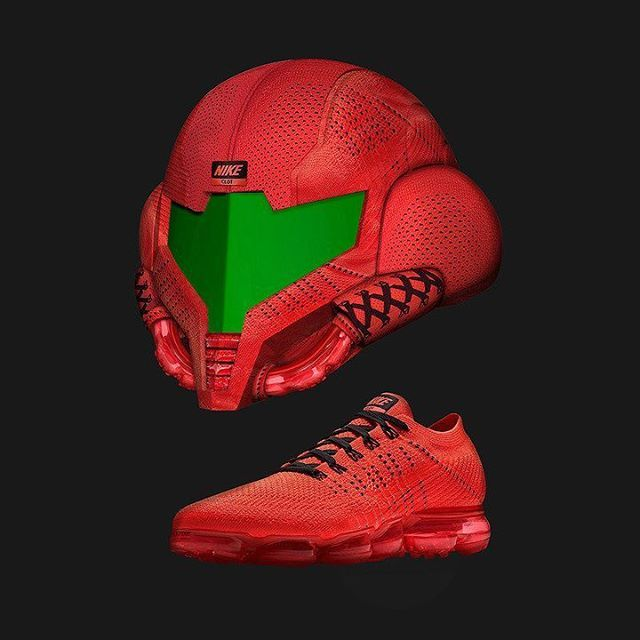 ATTN Nintendo nerds: @cole has reimagined the CLOT x Nike Air VaporMax as a