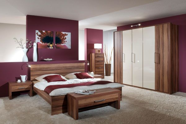 dormitorio morado  casa en 2019  Decoracion habitacion matrimonial Dormitorios y Pintar un dormitorio