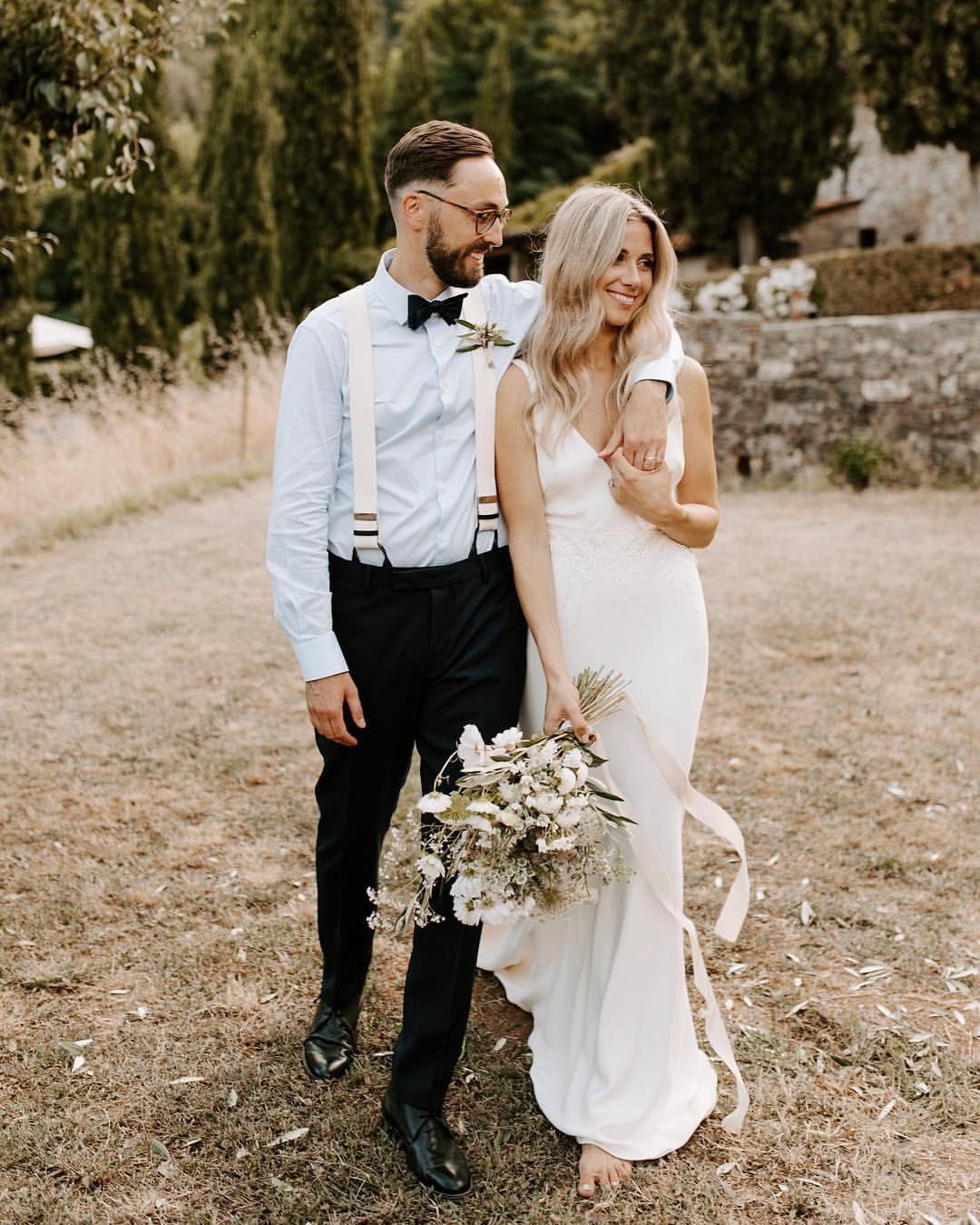 Tuscany Italy Wedding Borgo A Mozzano Peyton Rainey Byford Peytonrbyford Photography On I Italy Wedding Dress Satin Mermaid Wedding Dress Tuscany Wedding