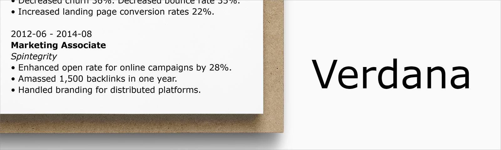 Matthew Carter created Verdana for Microsoft as the sans