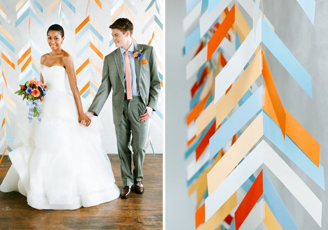 16 fun photo backdrop ideas for your next party backdrops photo diy herringbone backdrop 16 fun photo backdrop ideas for your next party solutioingenieria Images