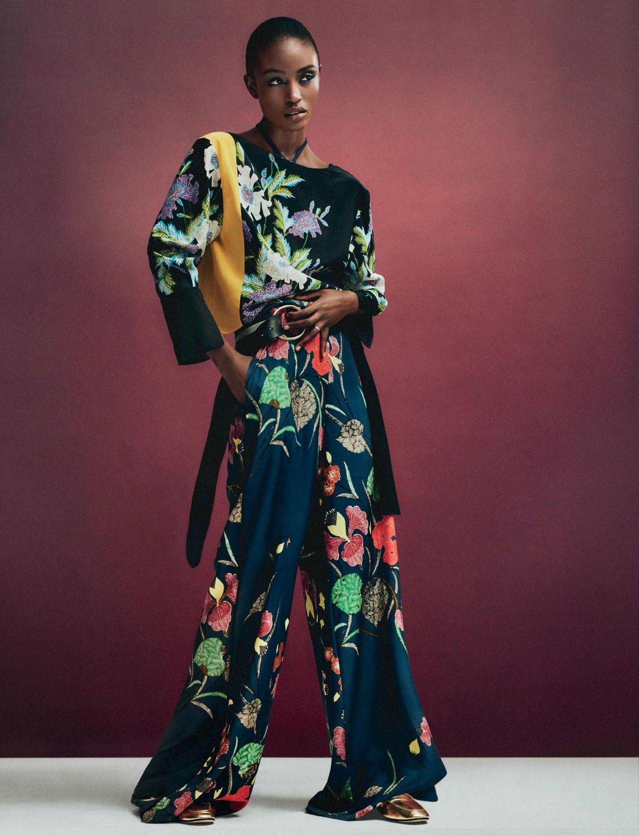 "midnight-charm: "" Alicia Burke photographed by Christian MacDonald for Interview Magazine Stylist: Karl Templer Hair: Sandy Hullett Makeup: Marla Belt """