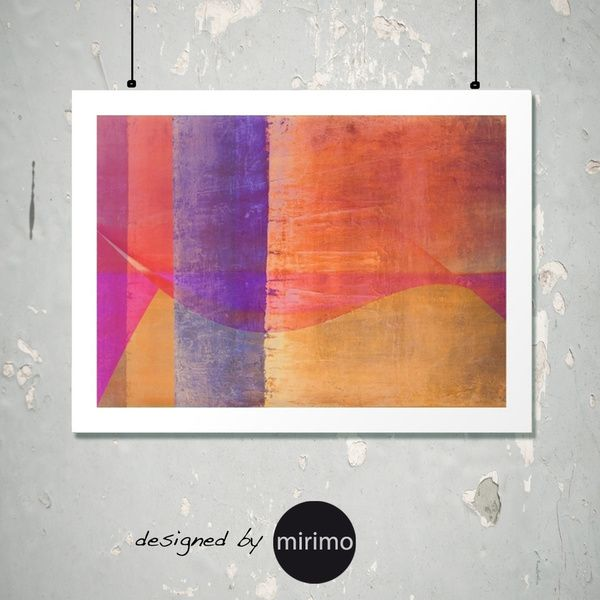 PINK WAVE abstract art by mirimo  TODAY ONLY 03/13 15% off on all art prints + free ww shipping ---  #artPrint    This print ► https://society6.com/product/pink-wav...print#1=45   or choose among my other prints ► https://society6.com/mirimo/prints