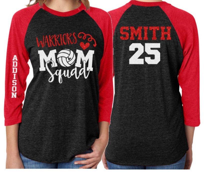 Glitter Volleyball Mom Squad Shirt Volleyball Shirts Etsy Volleyball Mom Shirts Volleyball Mom Shirts Design Mom Shirts