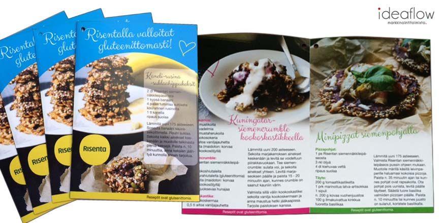 Gluteenittomia reseptejä. www.ideaflow.fi