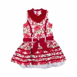 Trish Scully Child Christmas Floral Princess Dress -Designer Girl Clothes only $70.00 - New Items