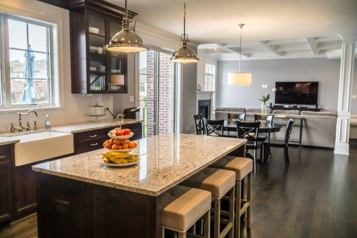 Sublime Homes  Colette Model  #openconcept #kitchen #entertainment #familymoments #sublimehomes #stjohnsluxuryhomebuilder #dreamitbuilditloveit