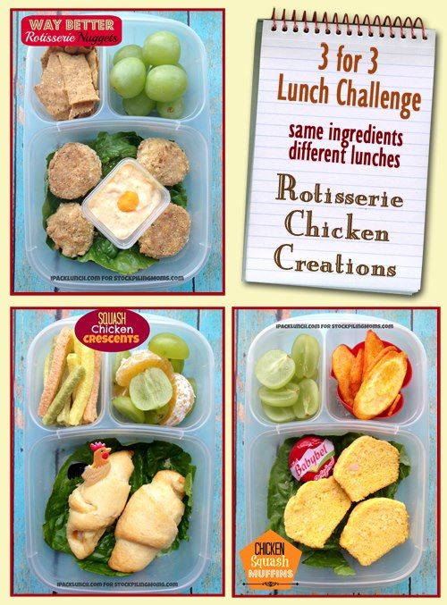 1 Whole Foods Rotisserie Chicken 3 Great Lunches See How Deb Of