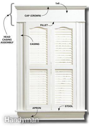 Exterior Door Trim Simple simple window trim and door trim | door trims, window trims and window