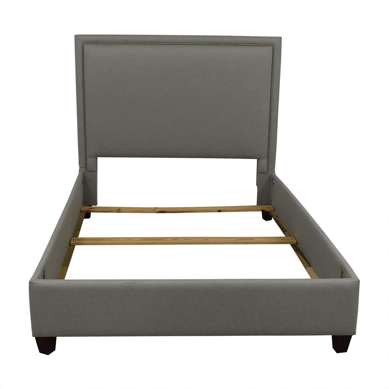 Bassett Full Nailhead Bedframe Bed Frame Furniture Bed Furniture