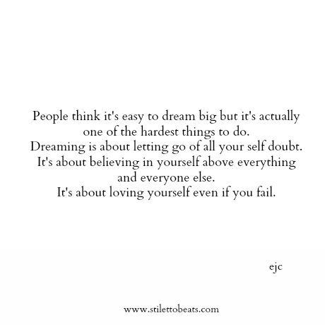 My big, crazy dream… | Living Differently |Crazy Big Words