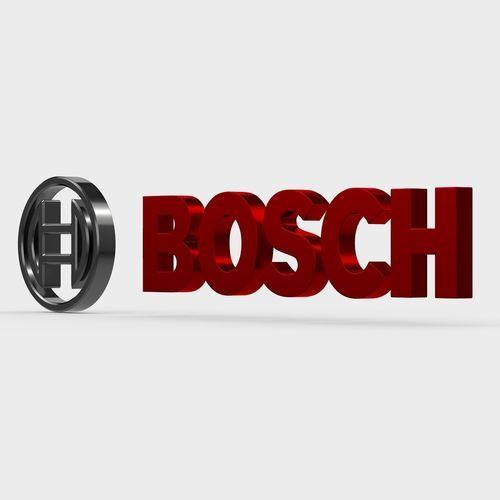 Bosch Logo 3d Model Bosch Professional Logo Design Company Logo Design