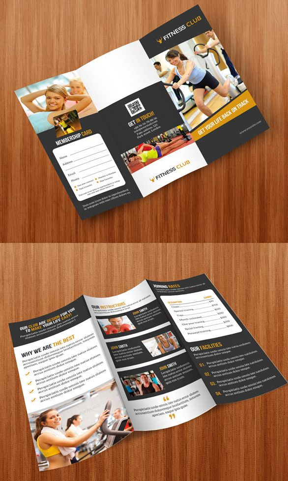 30 Creative Examples Of Tri-Fold Brochure Designs | Brochures, Tri