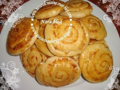 Cocina con Nora (cocina marroquí): Caracolas de queso