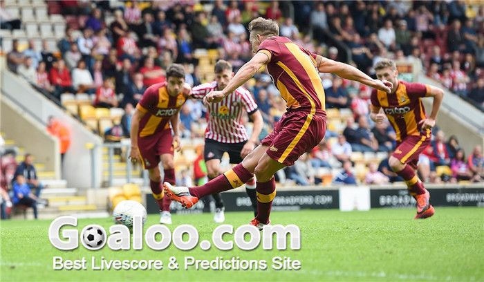 Bradford City VS Luton Town Tips England League 1 Match Time