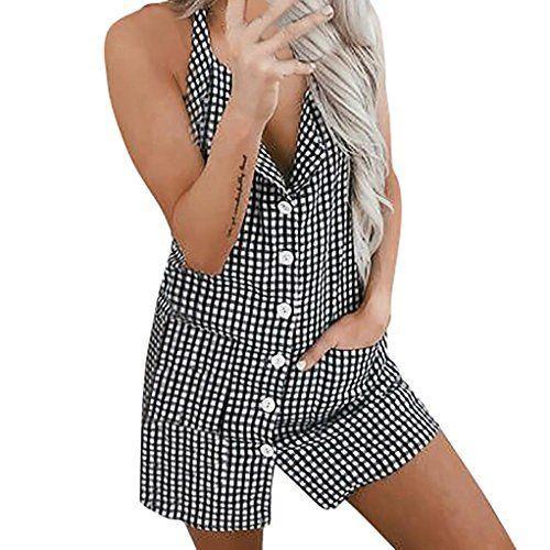 4f59e06966c60 Robe de Femme Soiree Elégante Tunique Robe Femmes Vacances Treillis Femme  Plage Summer Boutons Robe de