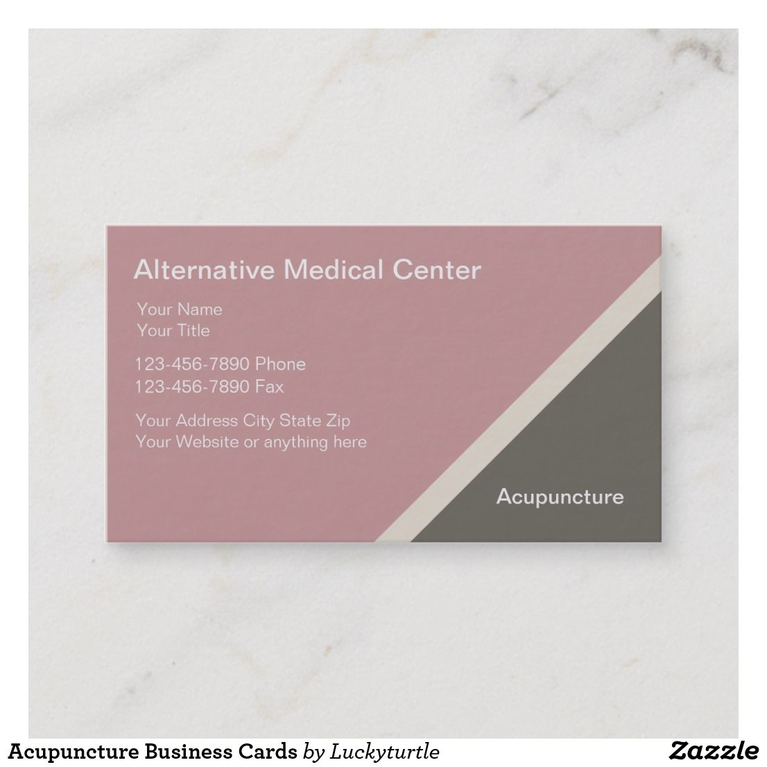 Acupuncture Business Cards | Acupuncture and Business cards