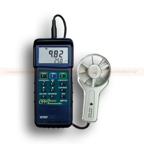Anemometer, vinghjul | Extech Fuktmätare, Strömtång